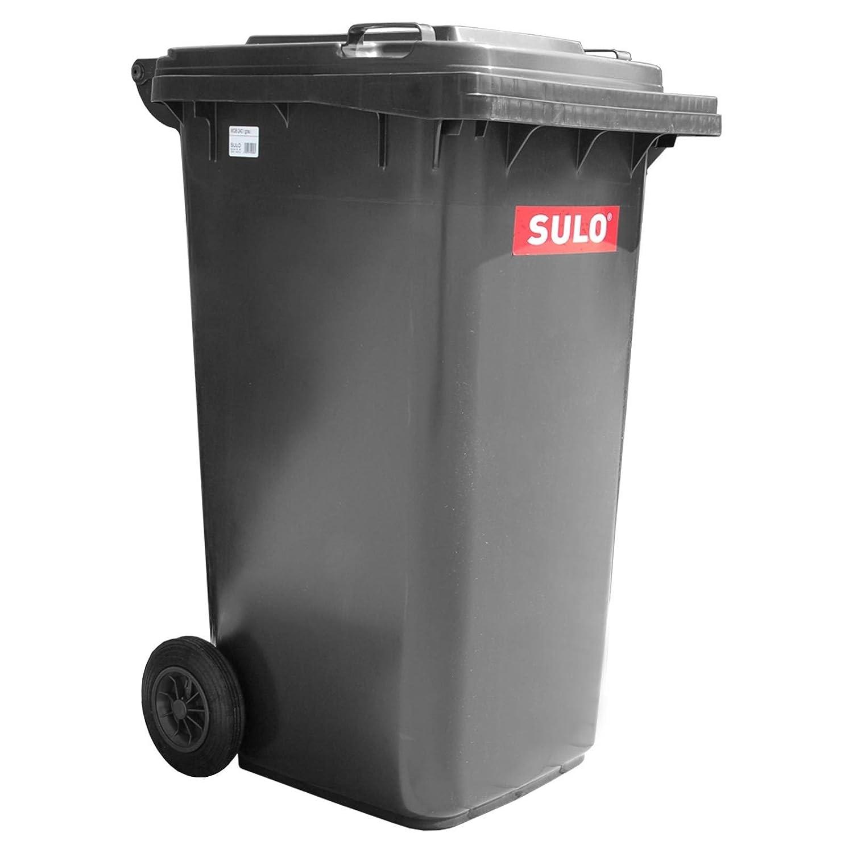 Sulo Müllgrossbehälter Grau 240 Ltr 477235 Abfalleimer