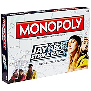 DIAMOND SELECT TOYS Jay and Silent Bob Strike Back Monopoly Board Game | NEW Comedy Trailers | ComedyTrailers.com