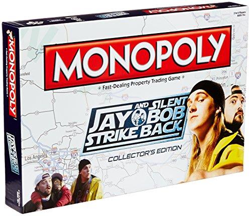 Silent Strike Back Monopoly Board