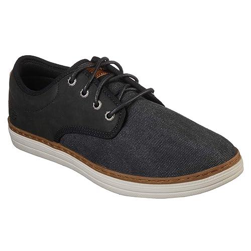 Skechers Heston-Santano, Zapatos de Cordones Brogue para Hombre: Amazon.es: Zapatos y complementos