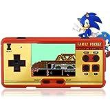 2.7inch LCD Rechargeable Console de jeu Rétro Mega Drive 16bits 160+ Jeux