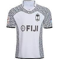 CRBsports Equipo Fiji, Rugby Jersey, Nueva Tela Bordada, Ropa Deportiva Swag