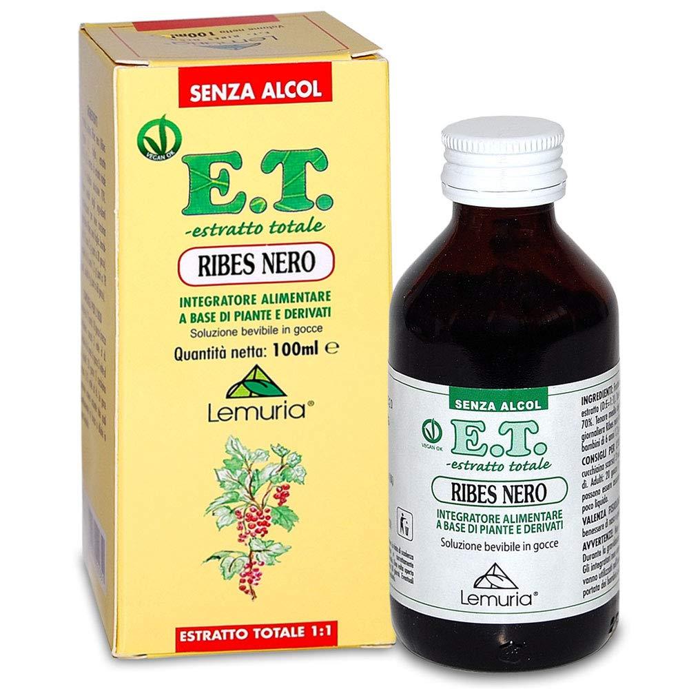 Lemuria - Estratto Totale di Ribes Nero - 100 ml | Estratto totale, allergie, difese immunitarie