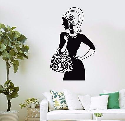 Amazon.com: ozdecorandmore Bag Store Shopping Girl Fashion ...