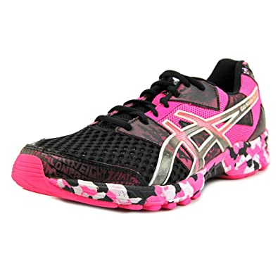buy online 7f5fa 66cd9 Asics Gel-Noosa Tri 8 Men US 10.5 Pink Running Shoe  Amazon.co.uk  Shoes    Bags