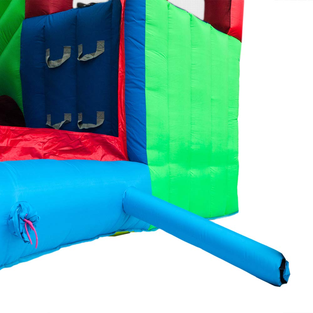 ATI Inflatable Moonwalk Water Slide Pool Bounce House Jumper Bouncer Castle by ATI (Image #7)