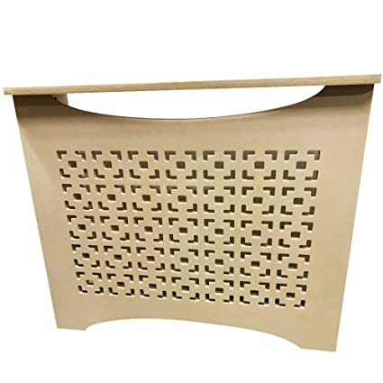 """Unfinished MDF Radiator Heater Cover, 22"""" Tall x 18"""" Wide x 9"""""""