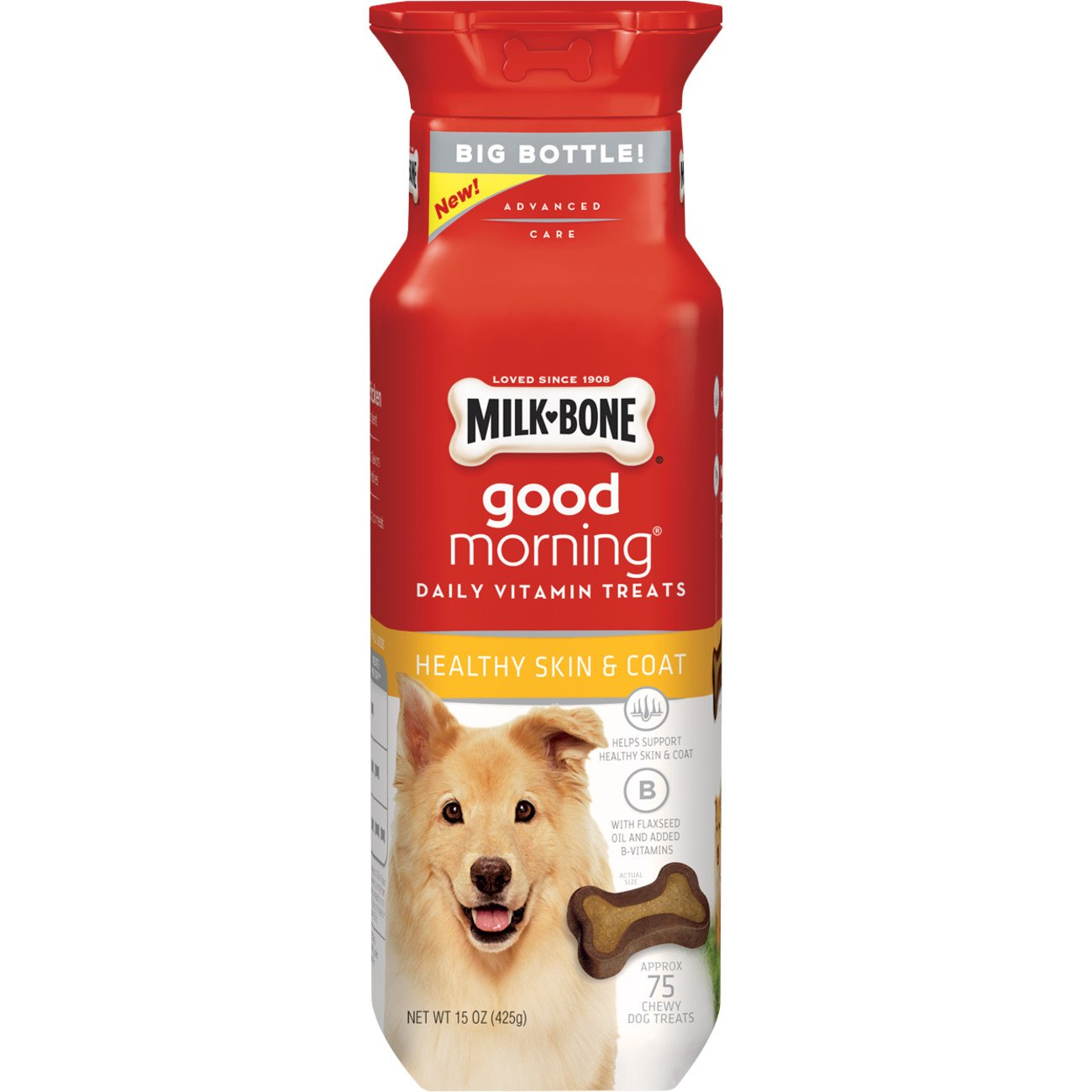 Milk-Bone Good Morning Daily Vitamin Dog Treats, 15 oz