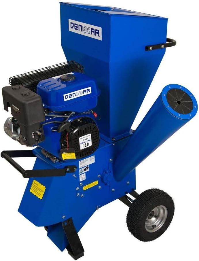 DENQBAR Trituradora de Jardin con 11 kW (15 PS): Amazon.es ...