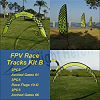 Night Heron FPV Race Tracks Kit B for RC Drone Racing(7sets)