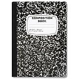 Bulk School Supplies Wholesale Case Pack of 48 Notebooks (Composition Book, Black)