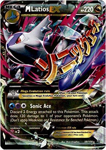 Pokemon - Mega-Latios-EX (59/108) - XY Roaring Skies - Holo
