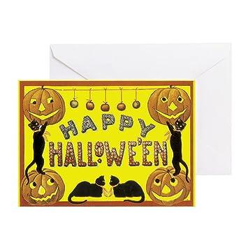 Cafepress Happy Halloween Greeting Card Note Card Birthday