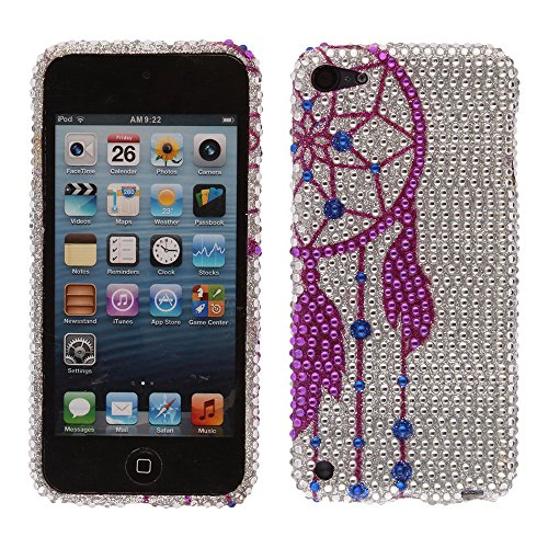 NextKin For iPod Touch 5 (5th Generation) iPod Touch 6 (6th) Design TPU Silicone Crystal Bling Protector Cover