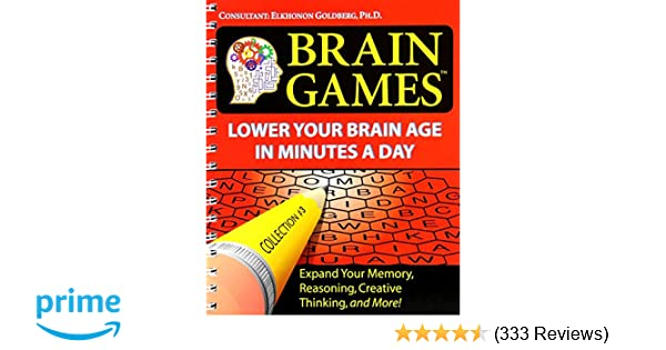 Brain games 3 lower your brain age in minutes a day editors of brain games 3 lower your brain age in minutes a day editors of publications international ltd 9781412714525 amazon books fandeluxe Choice Image
