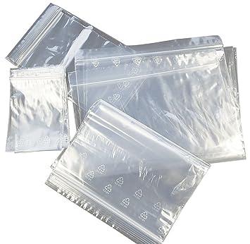 100 bolsa zip 250 x 350 mm bolsas con cremallera de cierre ...