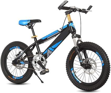 XWDQ Bicicleta De Montaña Bicicleta para Niños 18/20 Pulgadas Niño ...