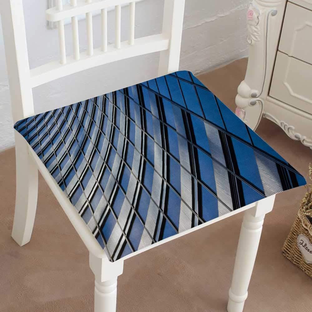 Mikihome 低反発素材チェアパッド デザインクッション用 屋内/屋外用 14インチ x 14インチ x 2個 28