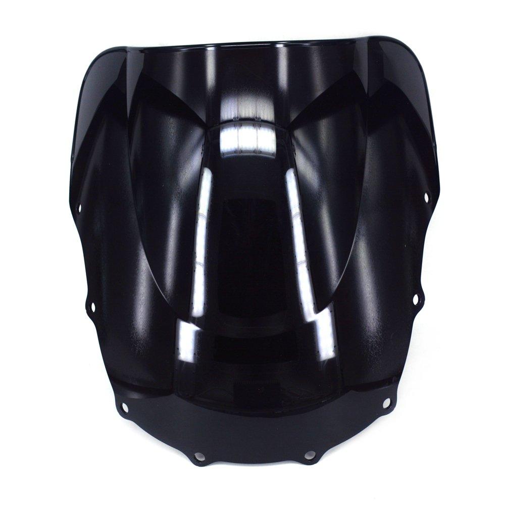 /Écran de Pare-Brise de Pare-Brise Double Bulle pour Kawasaki Ninja ZX12R 2002-2005