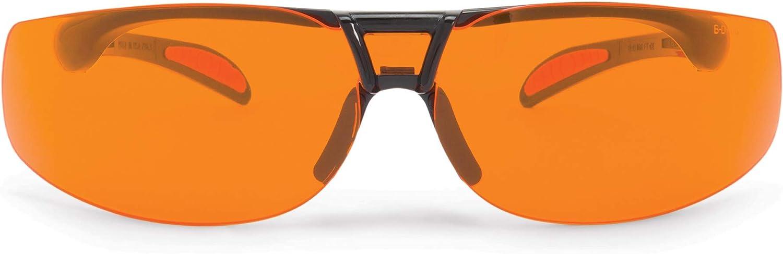 Uvex ASTRO Over-The-Glass (OTG) Blue Light Blocking Computer Glasses with SCT-Orange Lens (S2515)