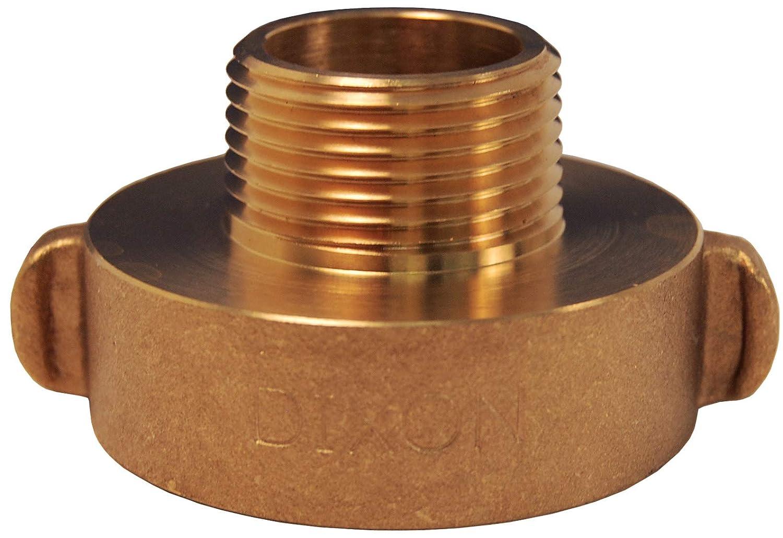 2.5 ID Brass 2.5 ID Dixon RHA2510 2 1//2 F NST x 1 M NPSH Hydrant Adapter Rocker Lug