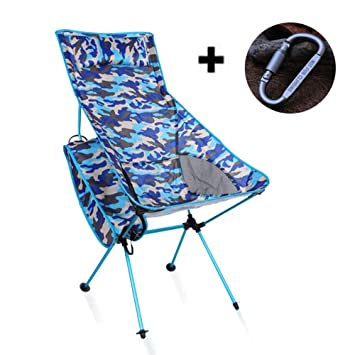 Silla de pesca portátil sillas de camping plegable ...