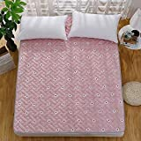 Collapsible Comfortable Ergonomics Mattress,Mat cushion Based on u.s. For Bedroom Household-Washable-flower sea 150x200cm(59x79inch)
