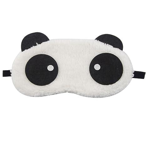 Westeng Panda Durmiendo Ojo Máscara portátil Cartoon Antifaces para Ojos Cubre Máscara,1 Pcs