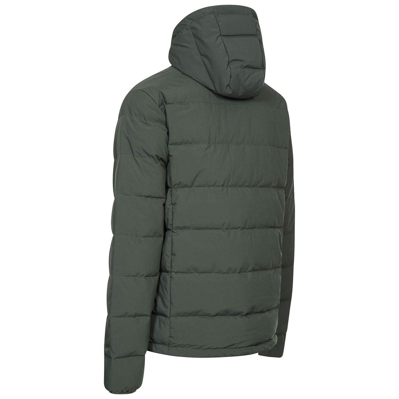 DLX Crane DLX Mens Down Jacket Windproof Warm Winter Coat with Hood