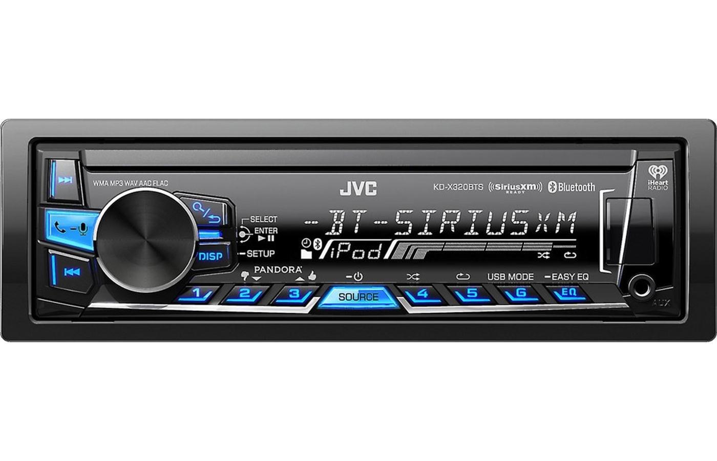 JVC Digital Media Receiver (KD-X320BTS)