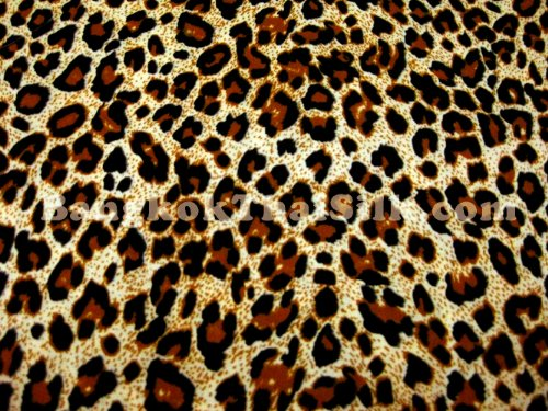 - 44'' Wide Call of the Wild Cheetah Tan Brown Fabric By The Yard