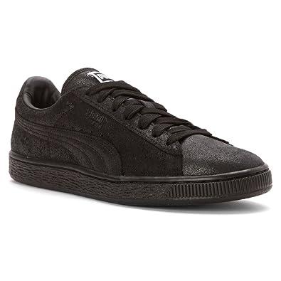 PUMA Women's Suede Classic + Matte & Shine Sneaker Black ...