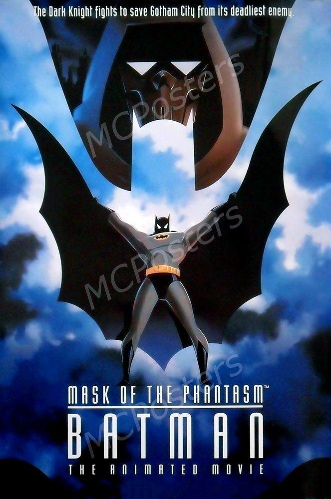 "MCPosters Batman Mask of the Phantasm GLOSSY FINISH Movie Poster- MCP122 (24"" x 36"" (61cm x 91.5cm))"