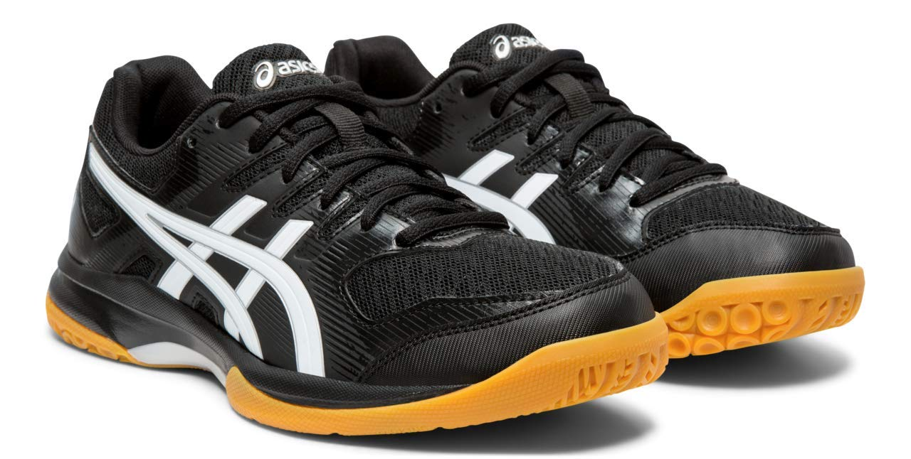 ASICS Gel-Rocket 9 Women's Volleyball Shoes, Black/White, 5 M US