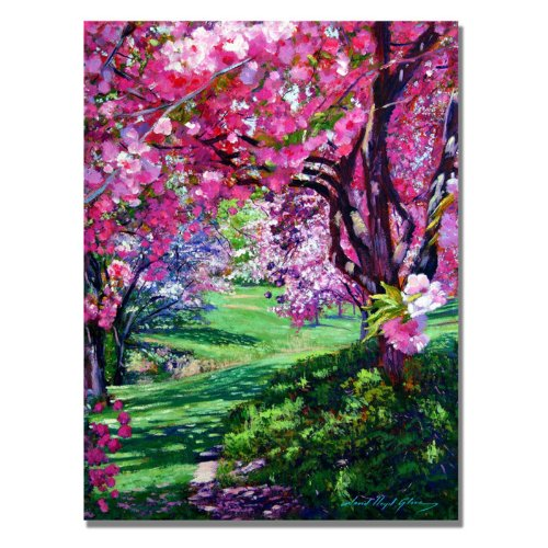 Trademark Fine Art Sakura Romance by David Lloyd Glover