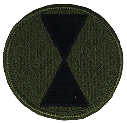 Image Unavailable. Image not available for. Color  US ARMY 7TH INFANTRY  DIVISION UNIT PATCH ... b0a841329bb