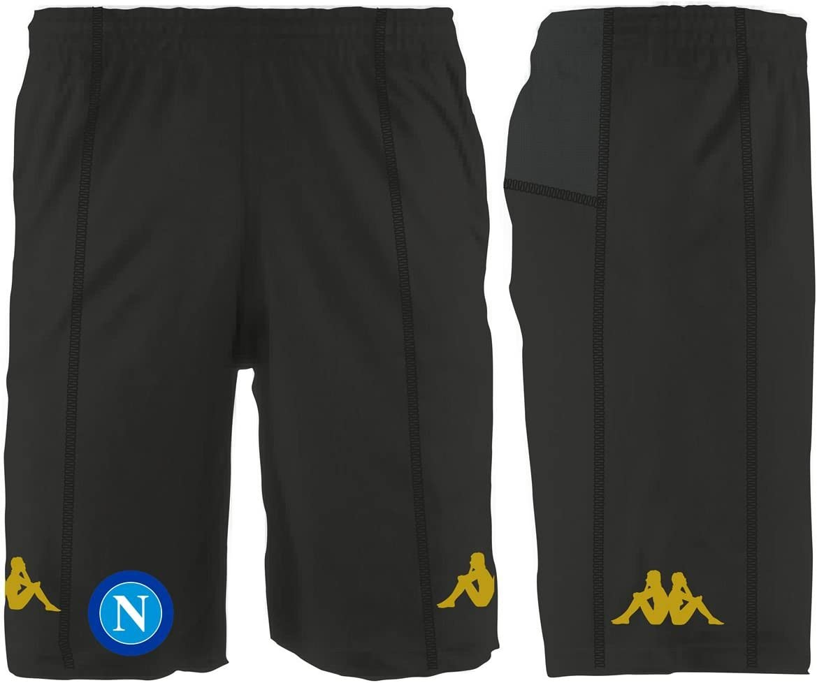 Kappa Taille Adulte Homme SCC NAPOLI Short Training Naples Collection Officielle 2016//17