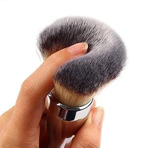 Ularma Pinceaux de Maquillage Maquillage Kabuki Visage Blush Brush Outil de poudre Foundation