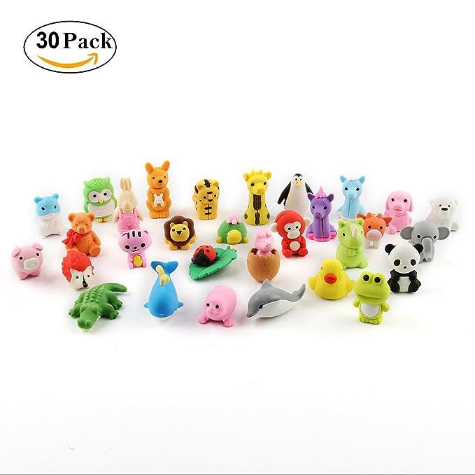31 opinioni per CUSFULL 30 Pezzi Gomma Gomme a forma di animali Per Cancellare per bambini, le
