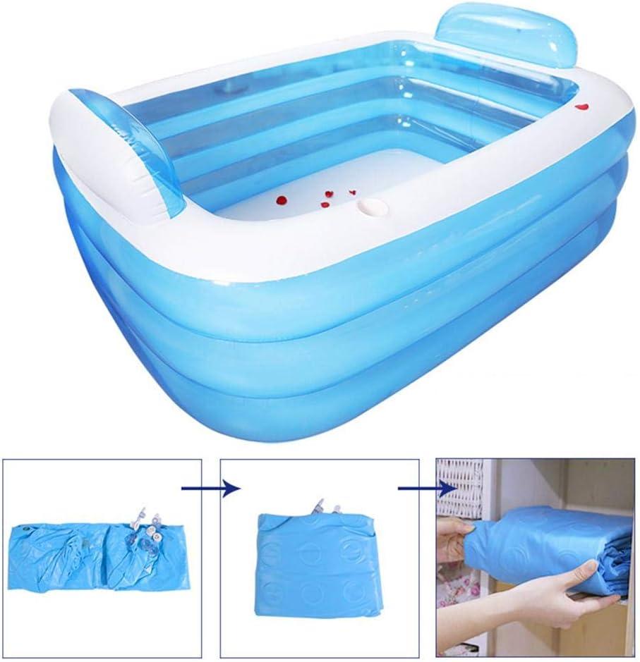 Blentude - Piscina hinchable hinchable de 3 anillos hinchable para la familia, niños y bebés