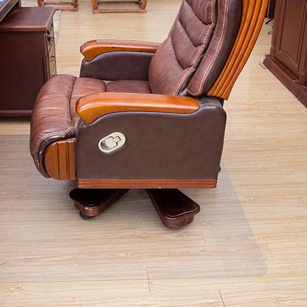 STOBOK Desk Chair Mat for Hardwood Floors Transparent Non Slip Floor Mat Floor Protector for Office Livingroom Bedroom Dining Room