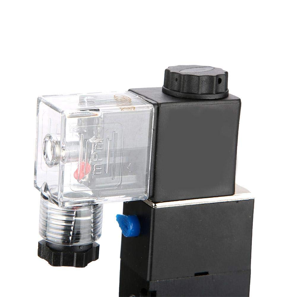 AC110V Solenoid 2 Position 5 Port Pilot-Operated Electromagnetic Air Valve
