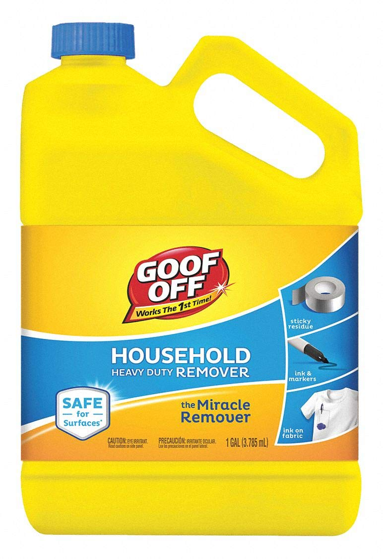 Heavy Duty Remover, 1 gal, Bottle by Goof Off