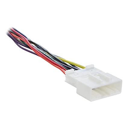 amazon com metra 70 7552 radio wiring harness for nissan 2007 up rh amazon com nissan micra stereo wiring diagram nissan sentra stereo wiring harness