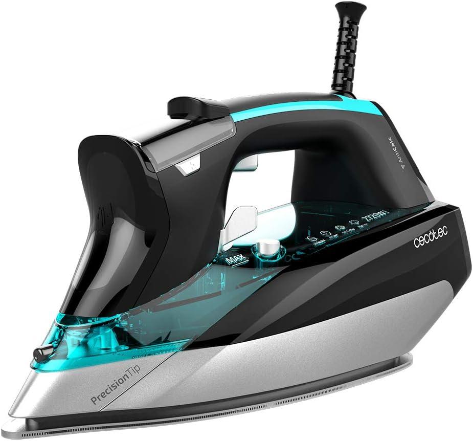 Cecotec Plancha Ropa de Vapor Fast&Furious 5050 X-Treme. Pantalla LCD, Potencia 2720 W, Vapor 55 g/min, Golpe Vapor 200 g/min, Modo Eco, 0,3 litros