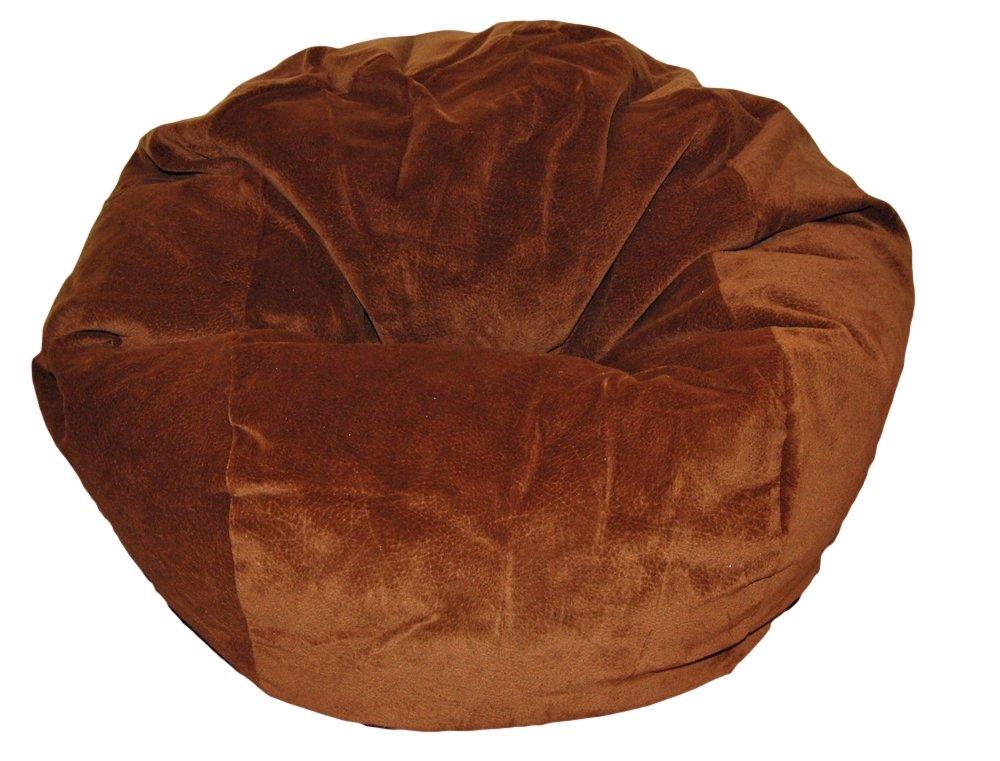 Ahh! Products Faux Suede Chocolate Kid Bean Bag Chair