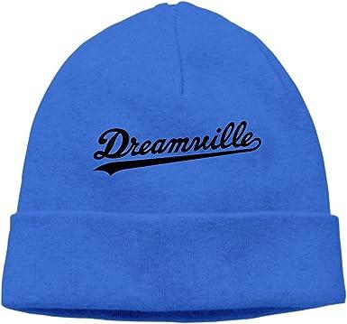 SingleLove Warm Winter Hat Dreamville Logo Acrylic Knit Cuff Beanie Cap