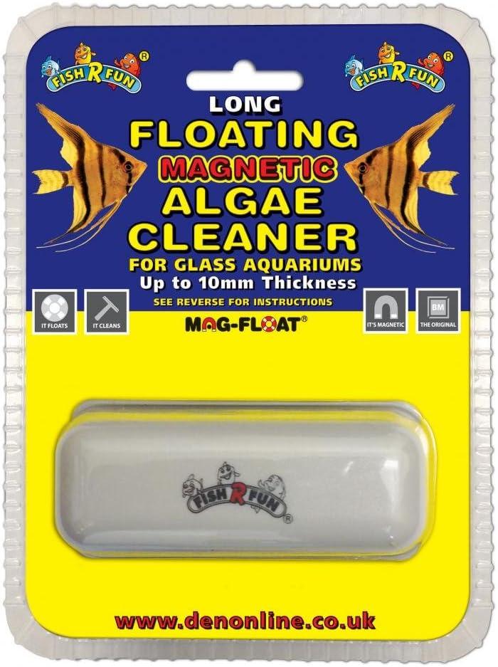 Fish R Fun Im/án Flotante para acuarios de hasta 10 mm de Grosor