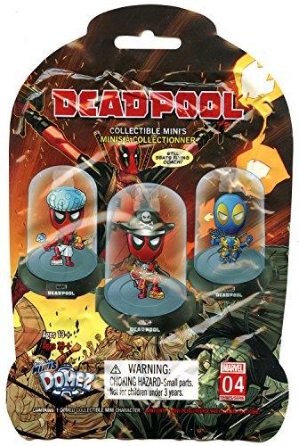 - Marvel's Deadpool Collectable Original Mini Domez Figurine One Blind Box Random Figurine Series 2