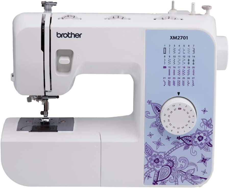 Most accessible to Use: Brother Mechanical Sewing Machine, XM2701, Lightweight Sewing Machine with 27 Stitches